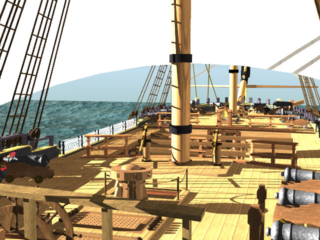 PELLEW, EXMOUTH - HMS INDEFATIGABLE